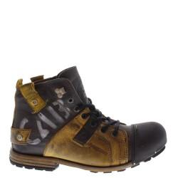 Yellow Cab férfi cipő Industrial Y15012 yellow-black